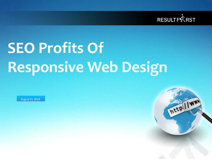 seo profits of responsive web design