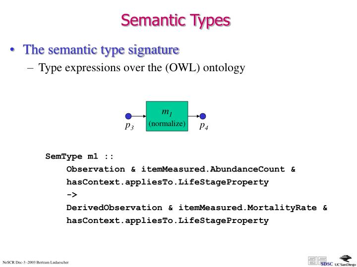 Semantic Types