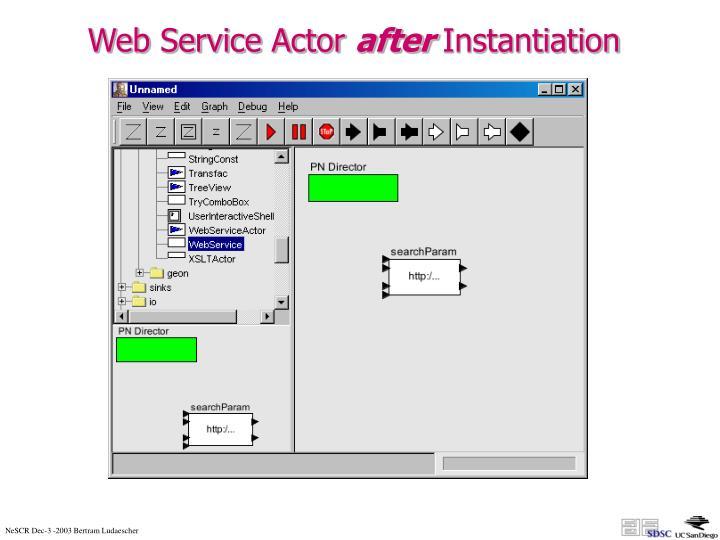 Web Service Actor