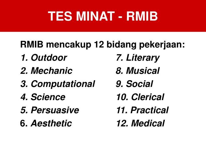 TES MINAT - RMIB