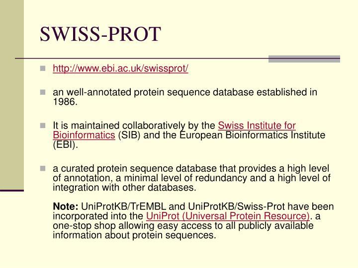 SWISS-PROT