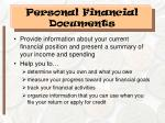 personal financial documents1