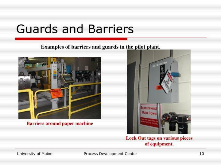 Guards and Barriers