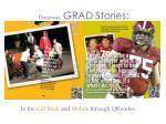 previous grad stories