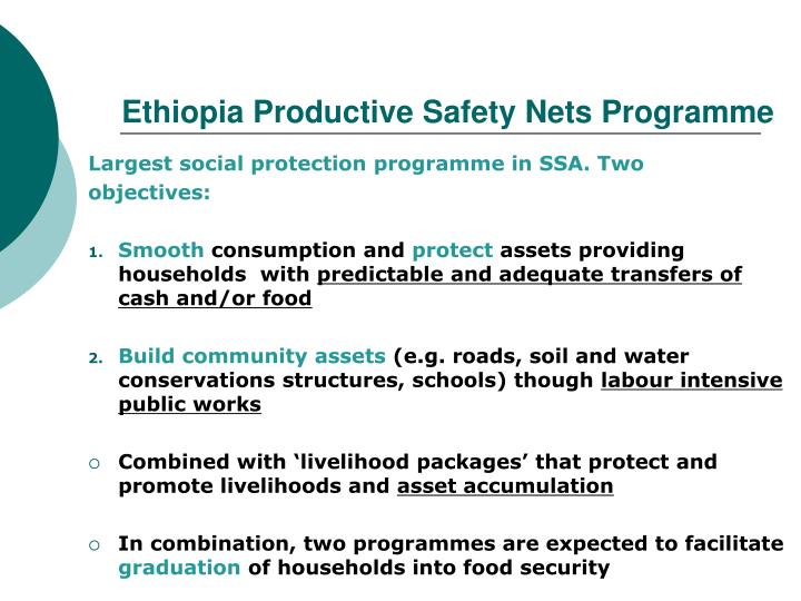 Ethiopia Productive Safety Nets Programme