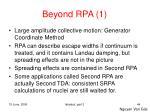 beyond rpa 1