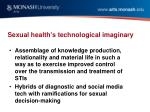 sexual health s technological imaginary