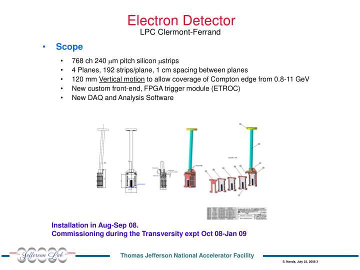 Electron Detector