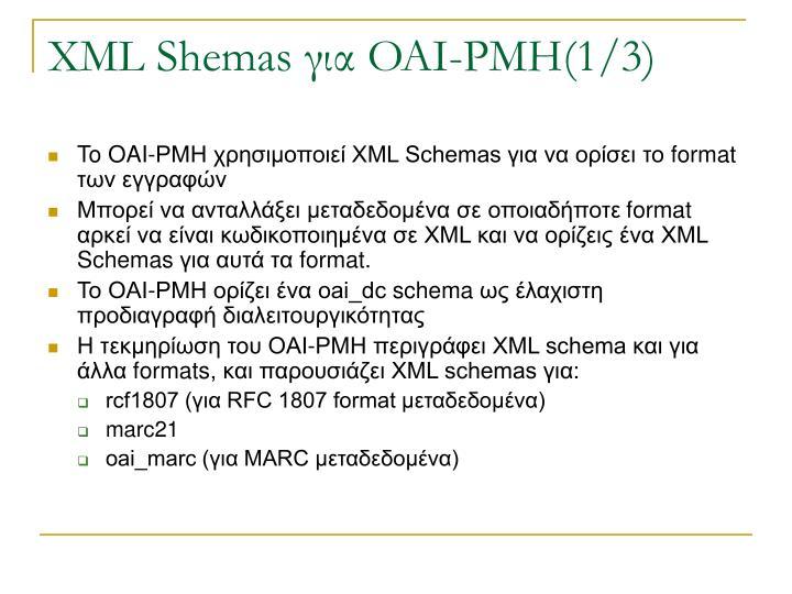 XML Shemas