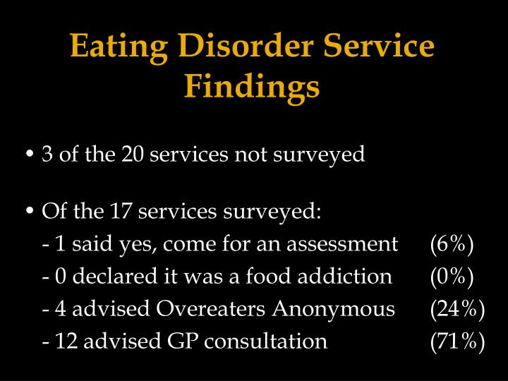 Eating Disorder Service