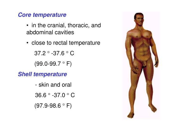 Core temperature