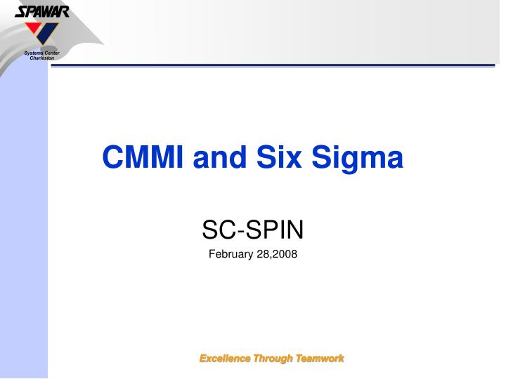 Cmmi and six sigma