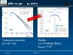 pnb vs pp p t and y