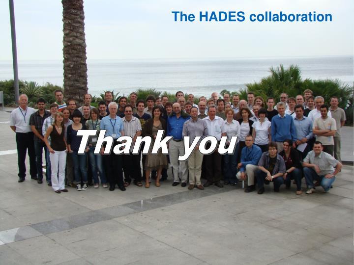 The HADES collaboration