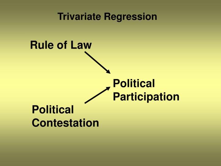 Trivariate Regression
