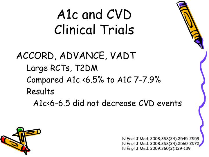 A1c and CVD