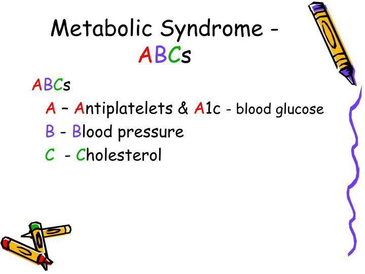 Metabolic Syndrome -