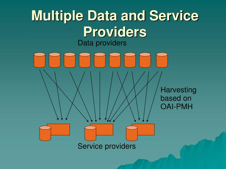 Multiple Data and Service Providers