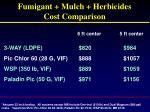 fumigant mulch herbicides cost comparison4
