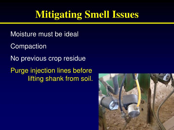 Mitigating Smell Issues