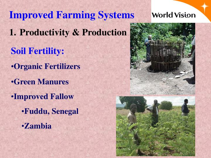 Improved Farming Systems