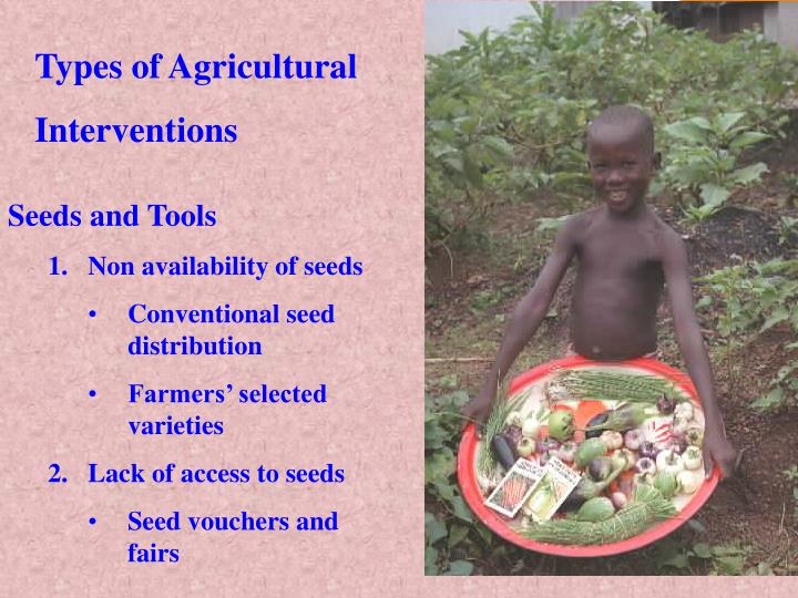 Types of Agricultural