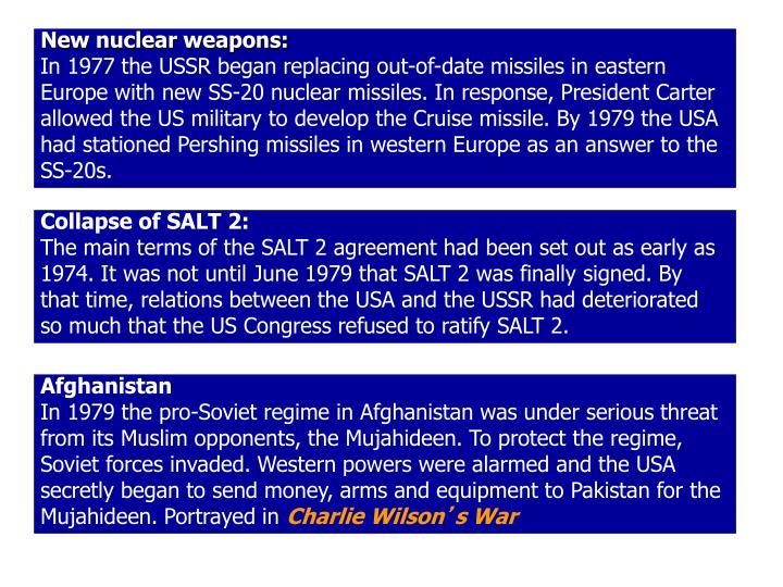 New nuclear weapons: