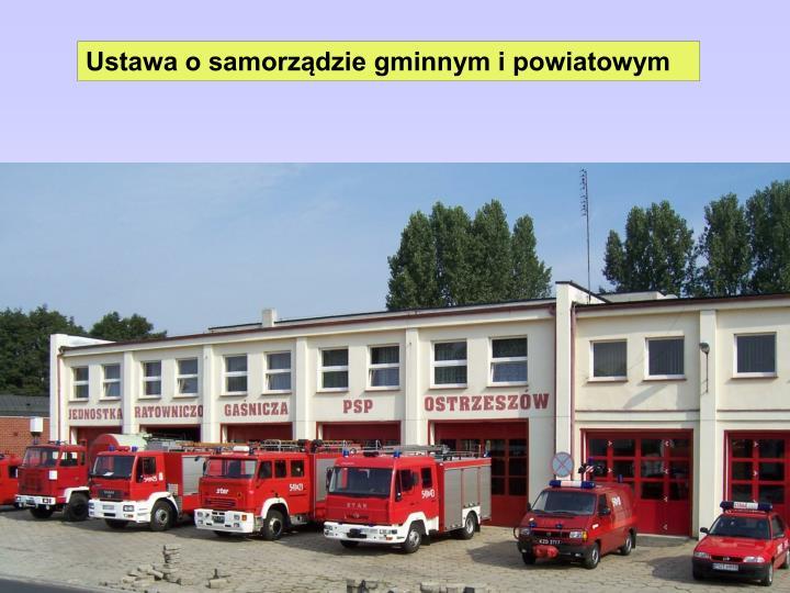 Ustawa o samorządzie gminnym i powiatowym