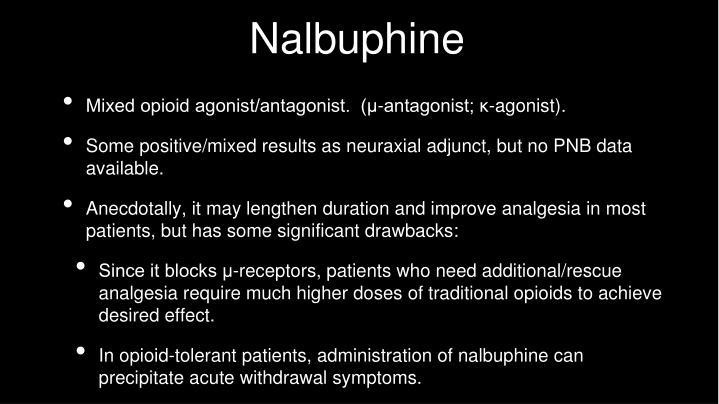 Nalbuphine