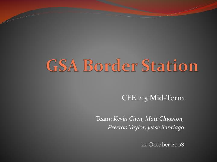 gsa border station