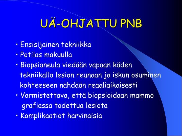 UÄ-OHJATTU PNB