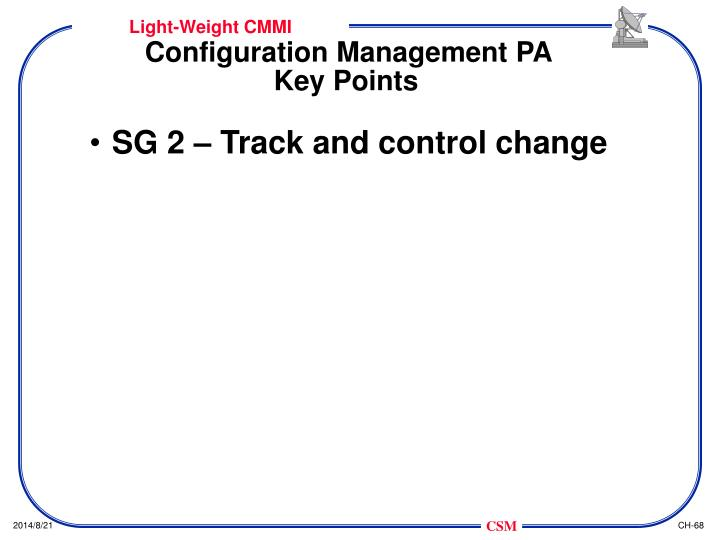 Configuration Management PA