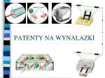 patenty na wynalazki