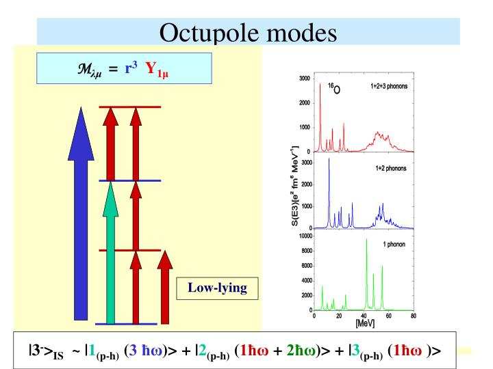 Octupole modes