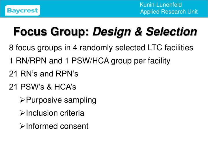 Focus Group:
