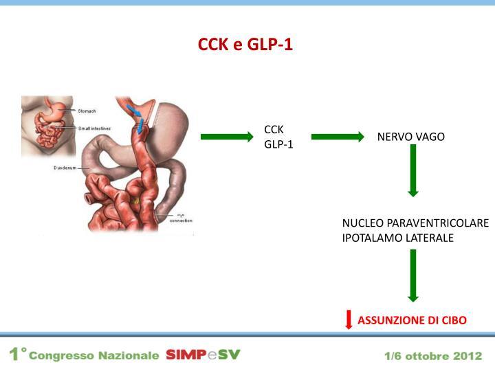 CCK e GLP-1