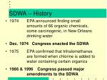 sdwa history1