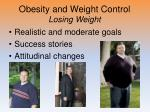 obesity and weight control losing weight