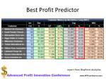 best profit predictor1