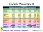 granular measurement2