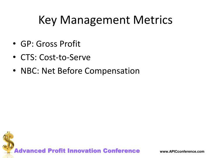 Key Management Metrics