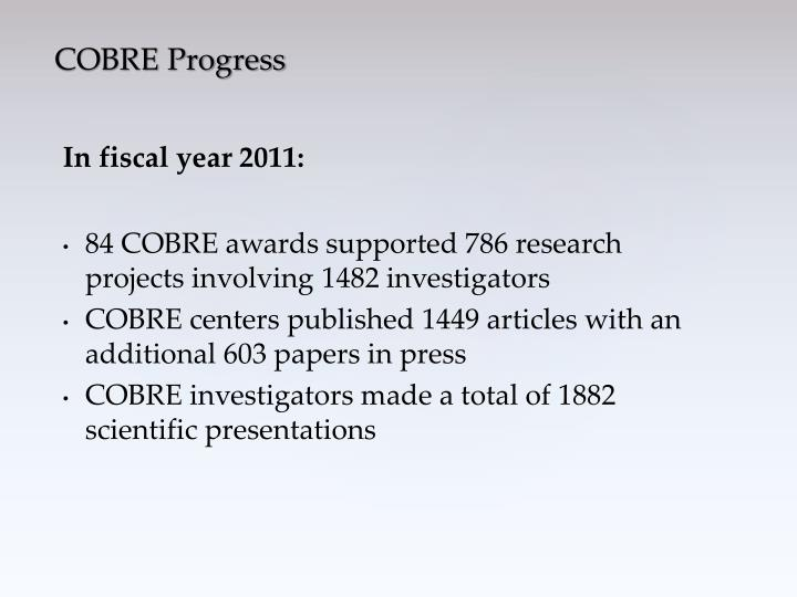 In fiscal year 2011: