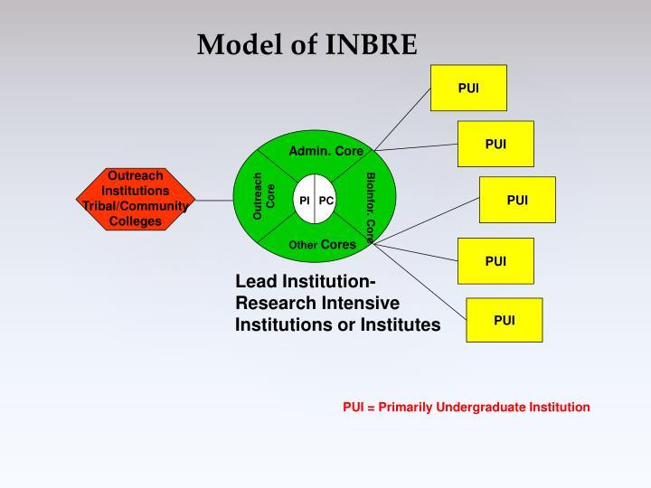 Model of INBRE