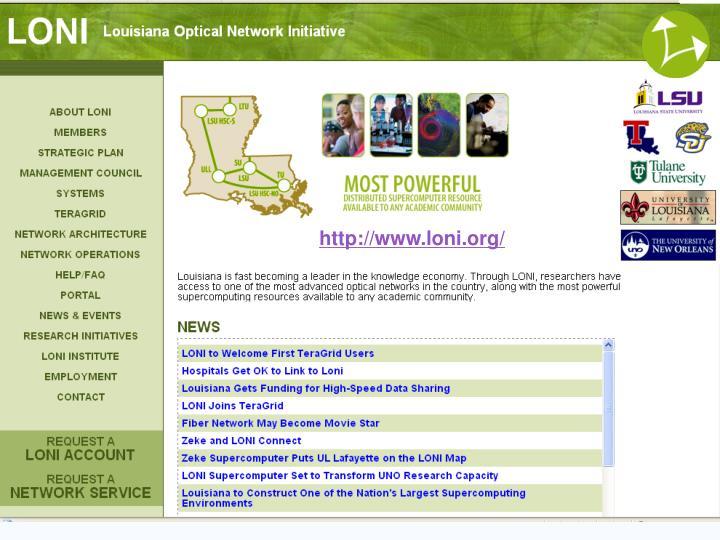 http://www.loni.org/