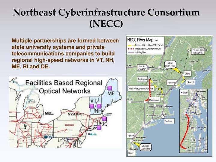 Northeast Cyberinfrastructure Consortium (NECC)