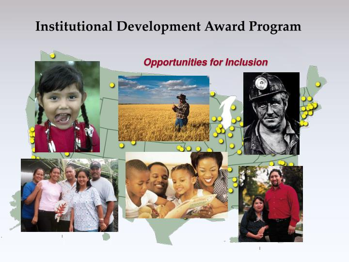 Institutional Development Award Program