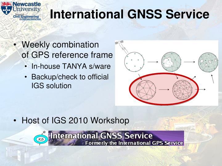 International GNSS Service