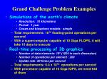 grand challenge problem examples
