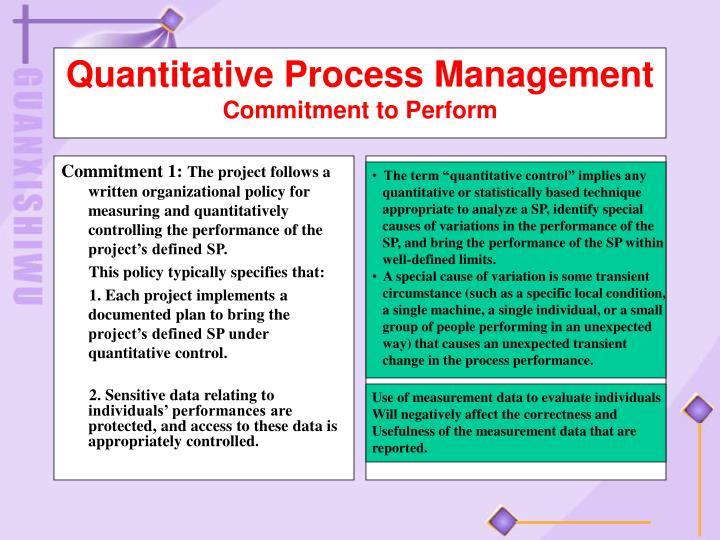 Commitment 1: