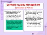 software quality management commitment to perform